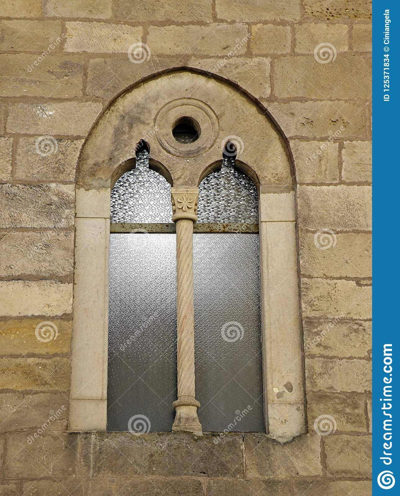 Gothic Castle Window
