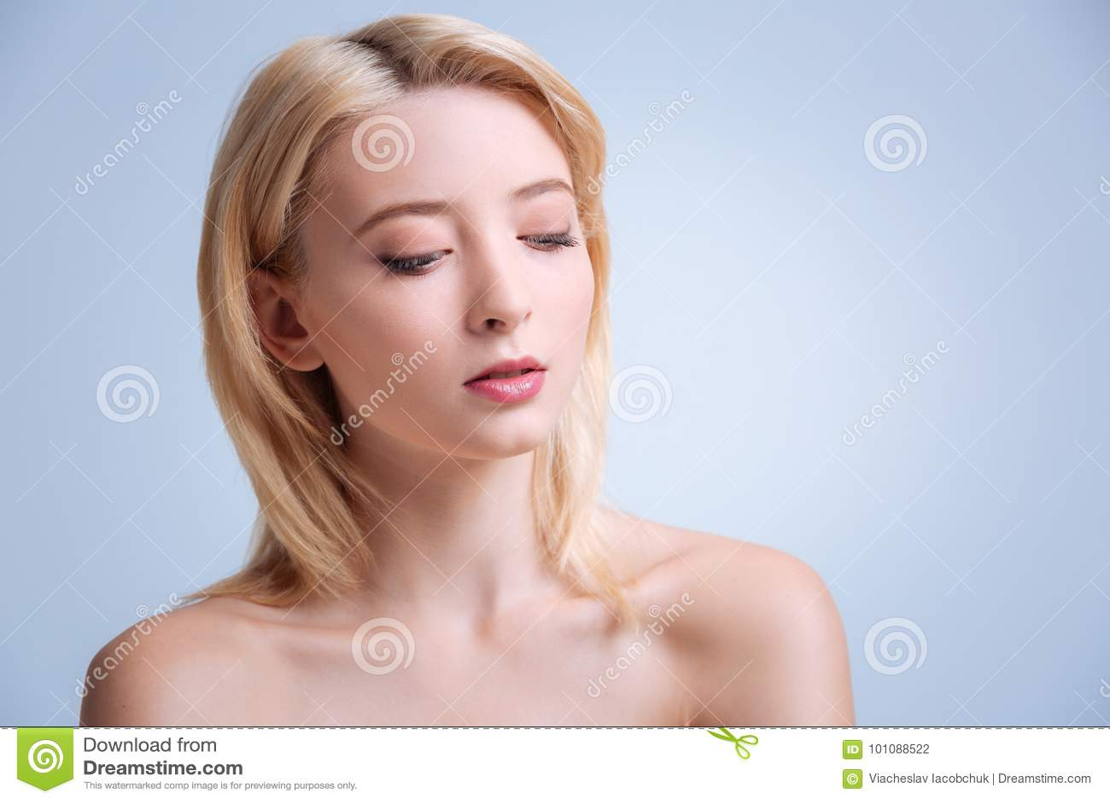 Christian nude posing wife