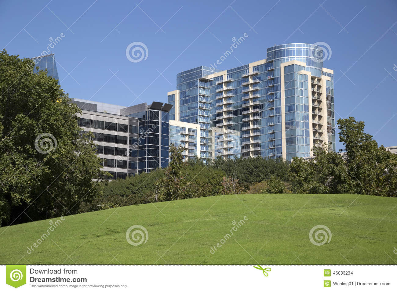 Nice modern apartment buildings stock photo image 46033234 for Nice building images