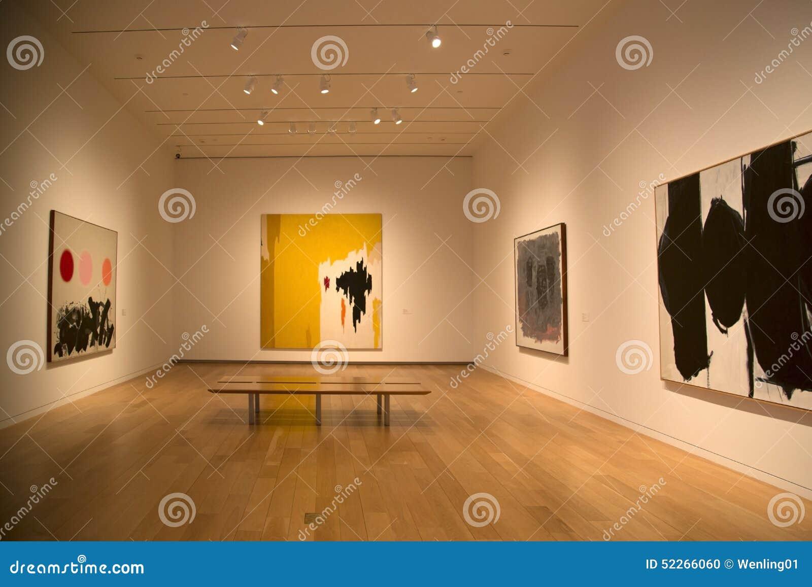 Nice Modern Art Museum Interior