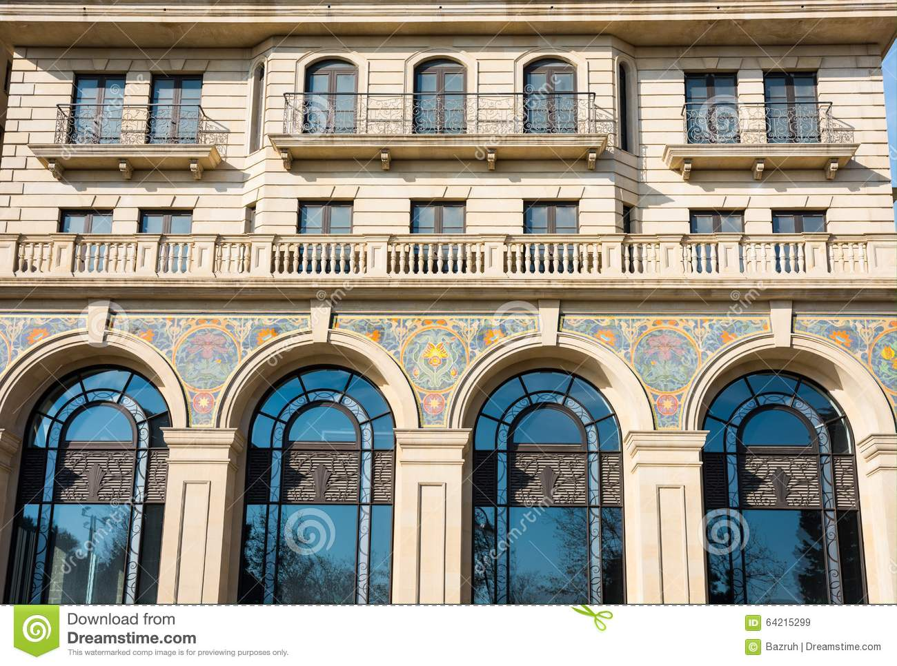Nice modern building stock photo image 64215299 for Nice building images