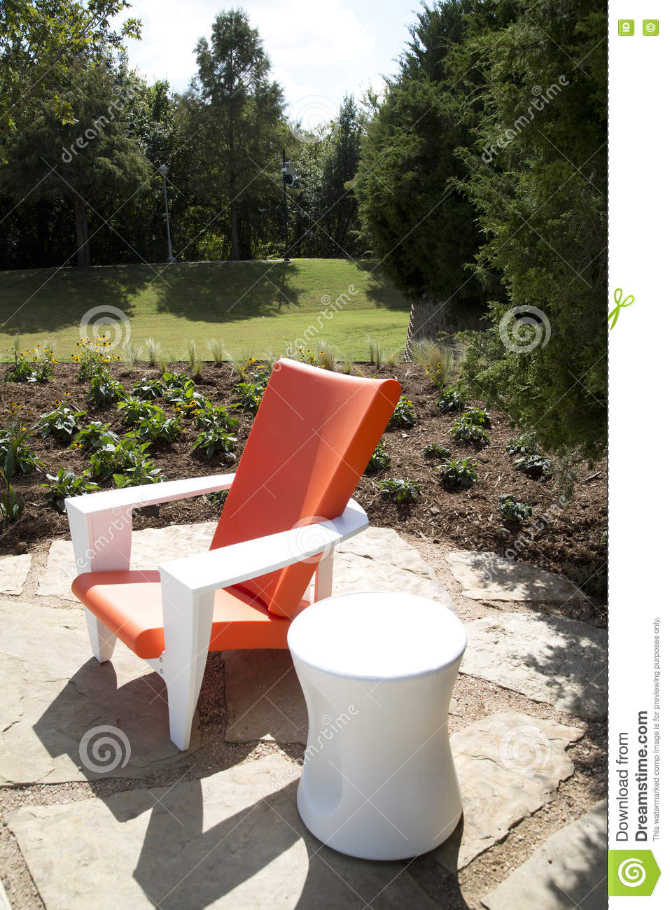 Fantastic Nice Modern Design Chair And Table Outside Stock Photo Bralicious Painted Fabric Chair Ideas Braliciousco