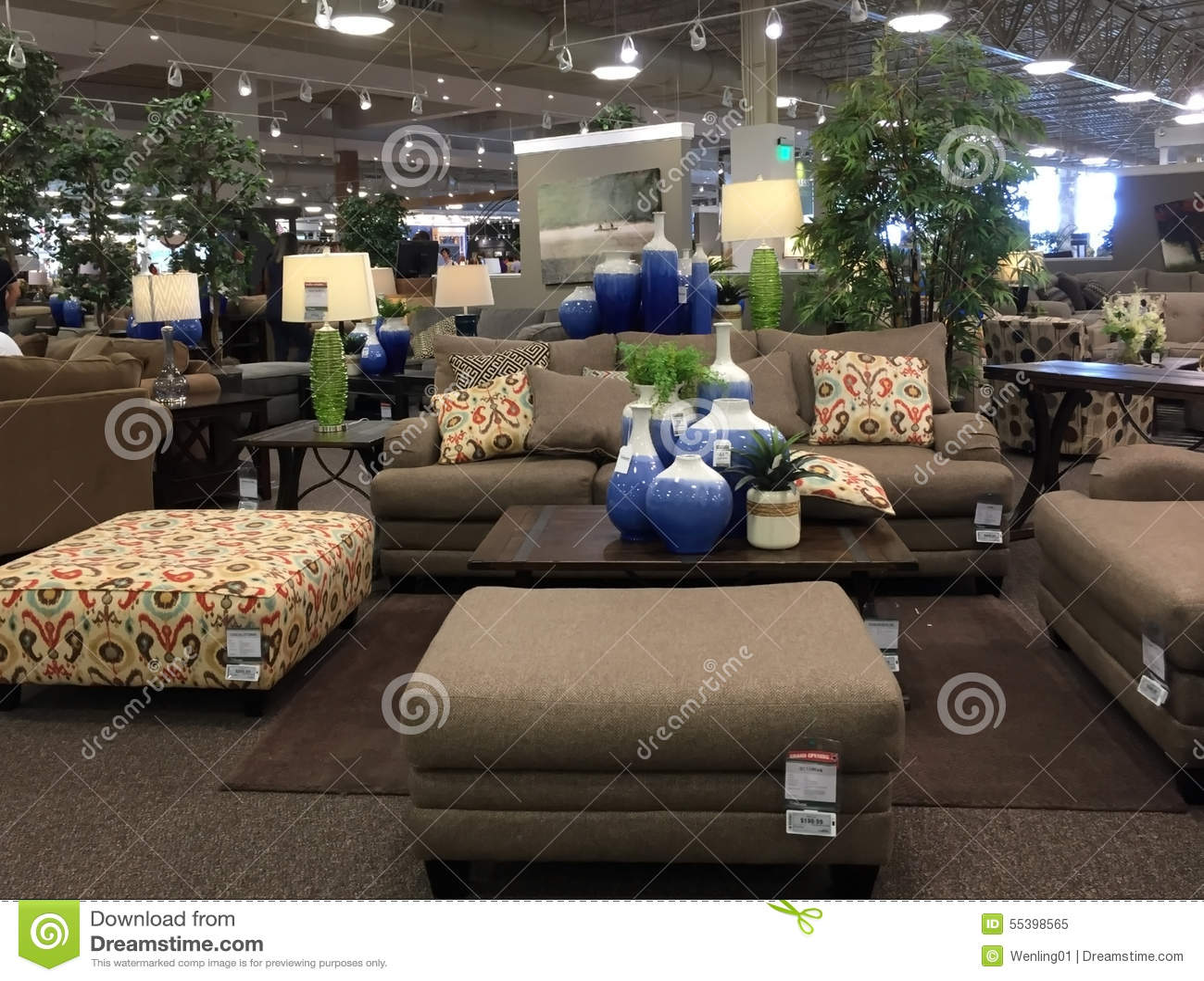 Nice Sofa Selling At Store Editorial Image 48208040