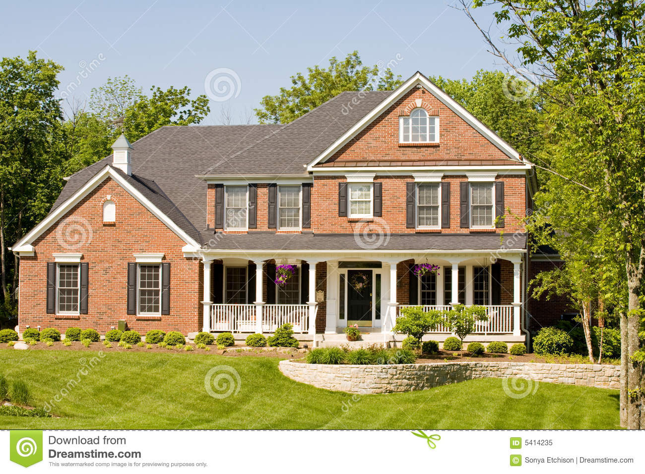 Nice modern home stock image image of house home grand for Modern photography for sale