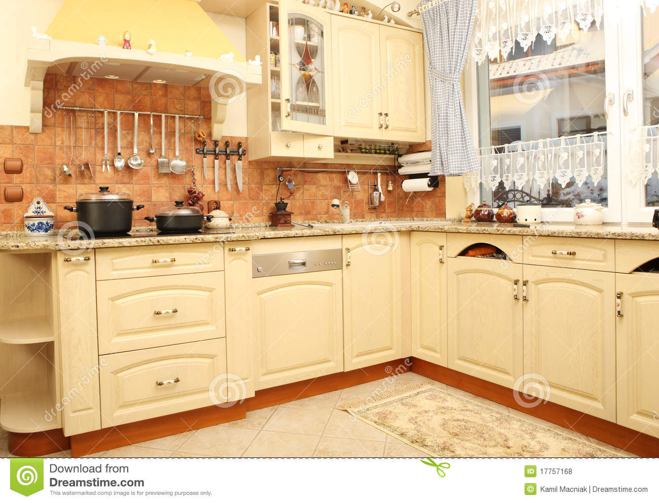 Nice modern kitchen royalty free stock photos image for Nice modern kitchens