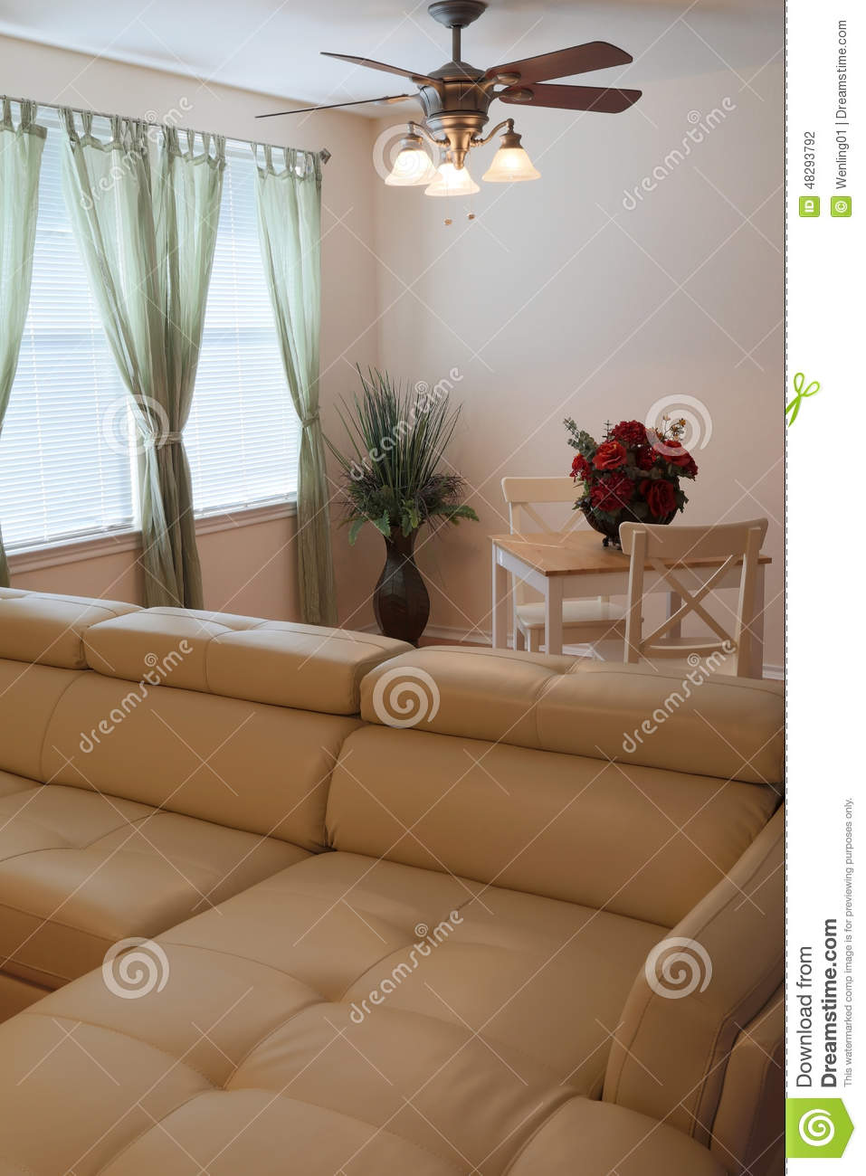 Nice modern living room interior stock photo image 48293792 - Nice interior pic ...