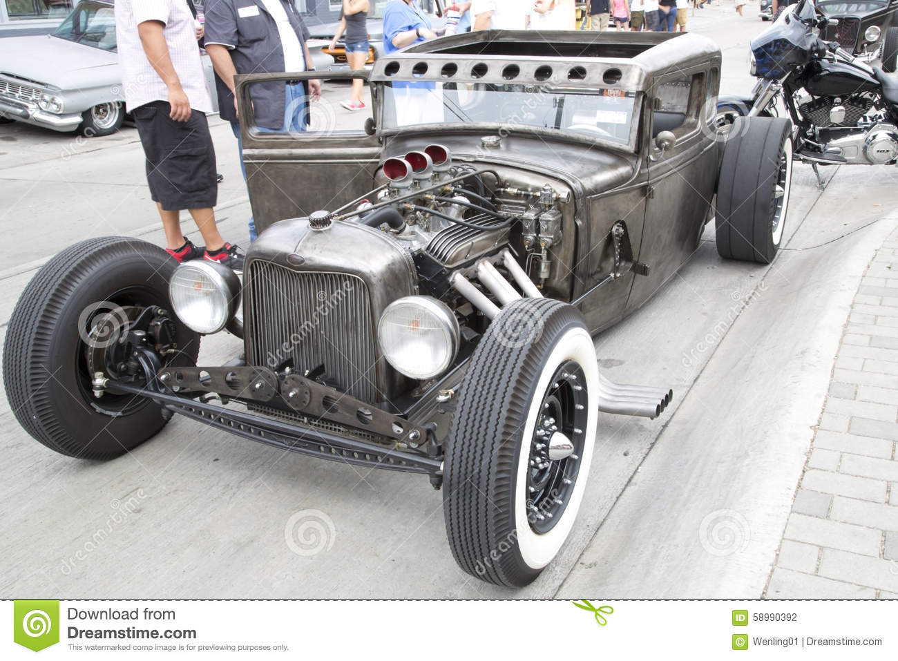 Nice Old Car Show In Dallas Editorial Photography - Image of ...