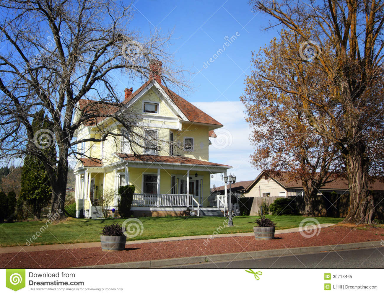 Charming historical farm home royalty free stock photo for Farmer home
