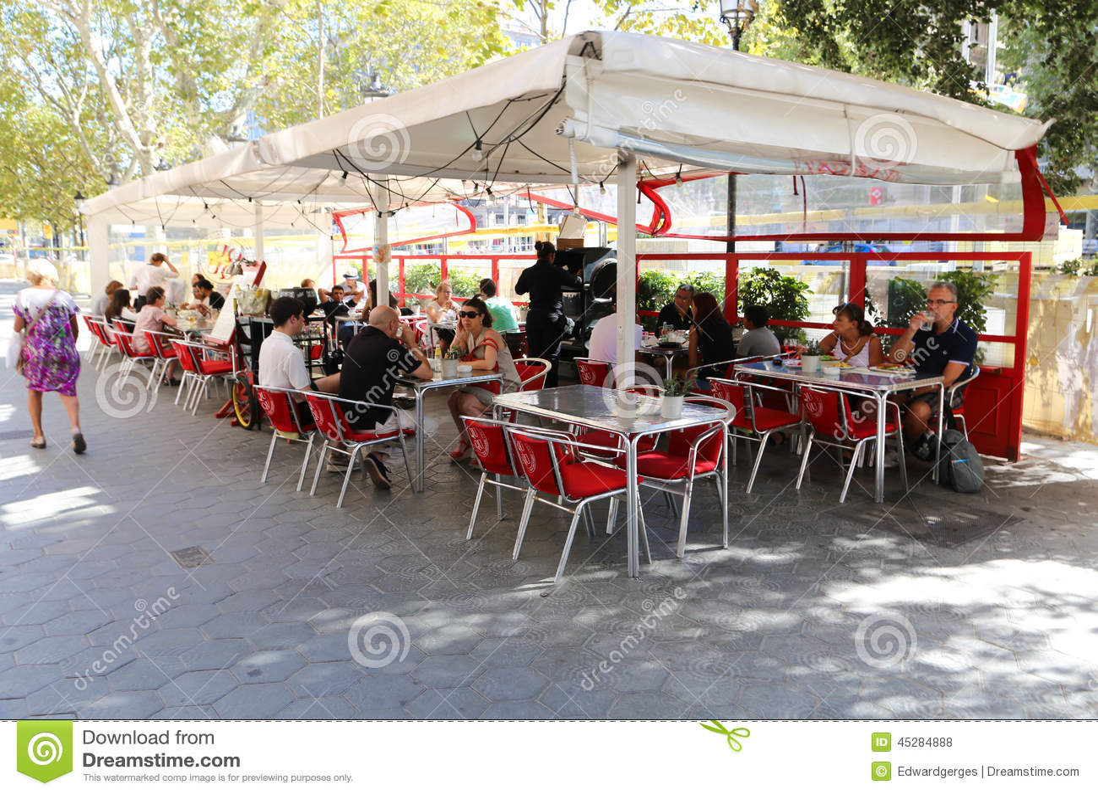 Nice restaurant in Barcelona