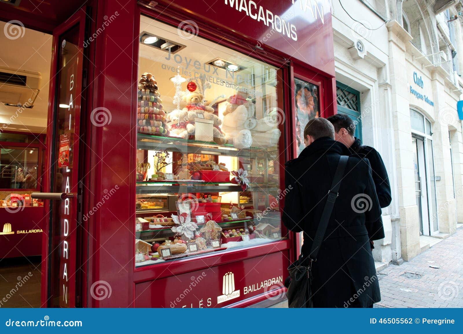 Nice Shop Baillardran Bordeaux France Editorial Photography Image