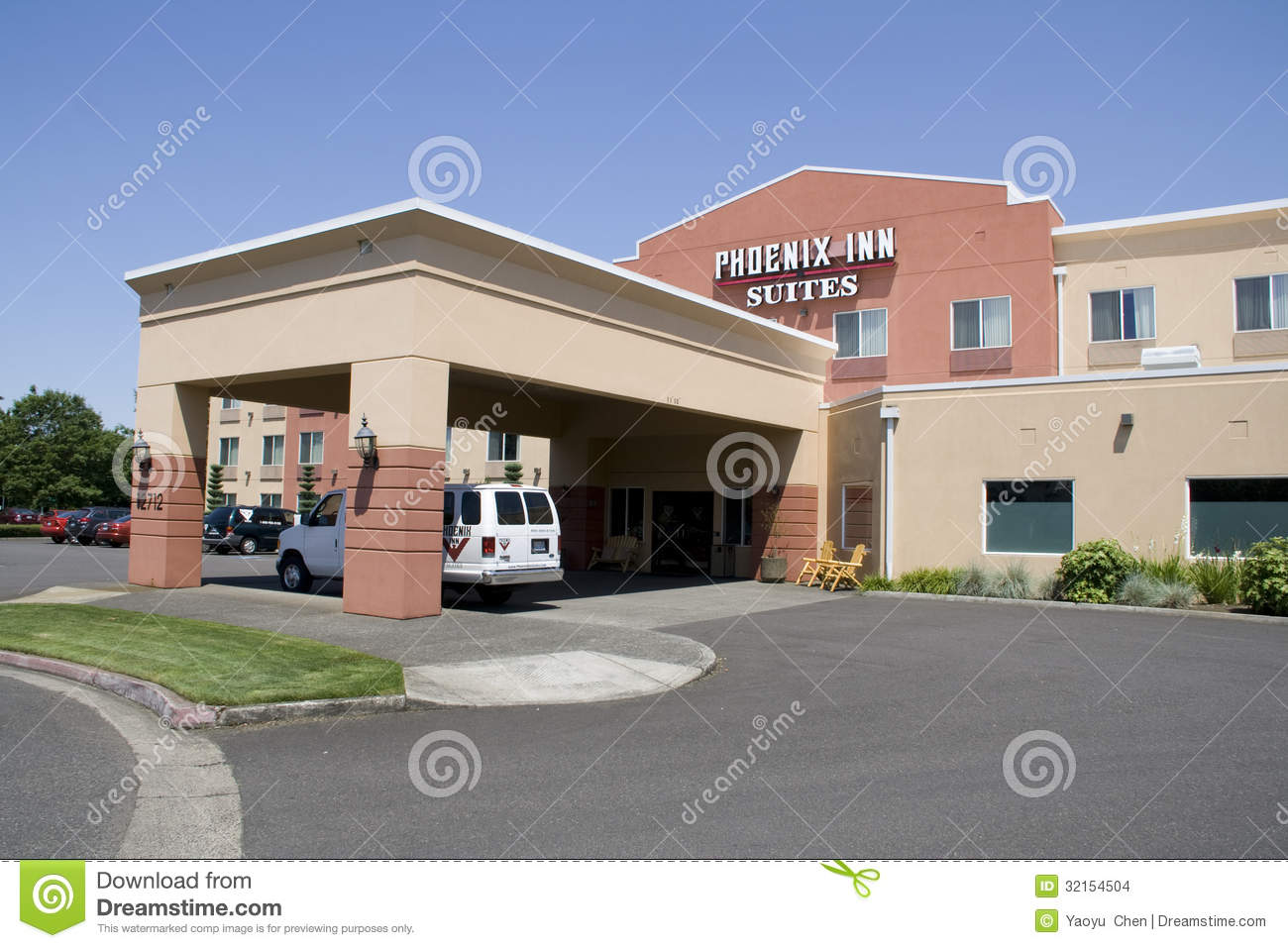 Nice small hotel inn editorial stock image image 32154504 for Small great hotels