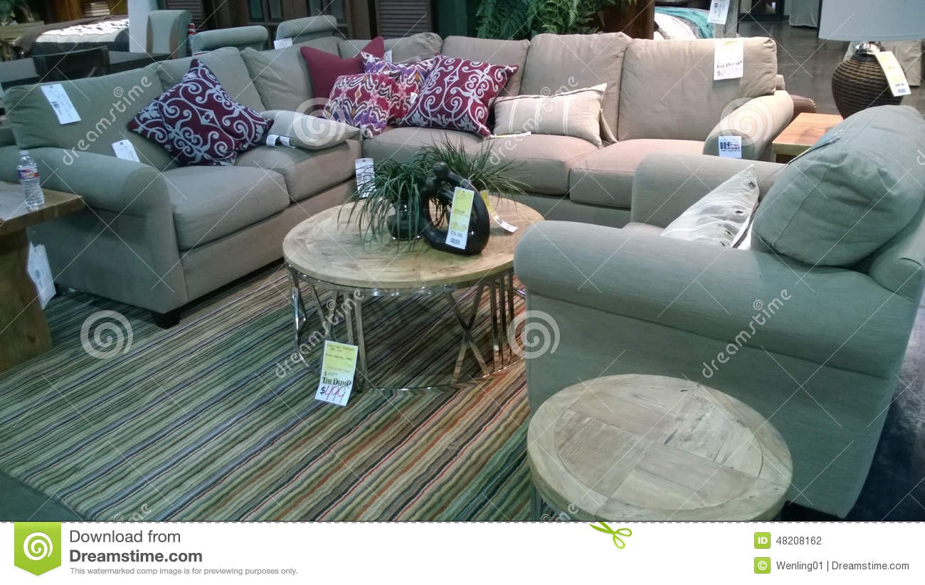 Nice Sofa Selling At Store Editorial Photography Image Of Market