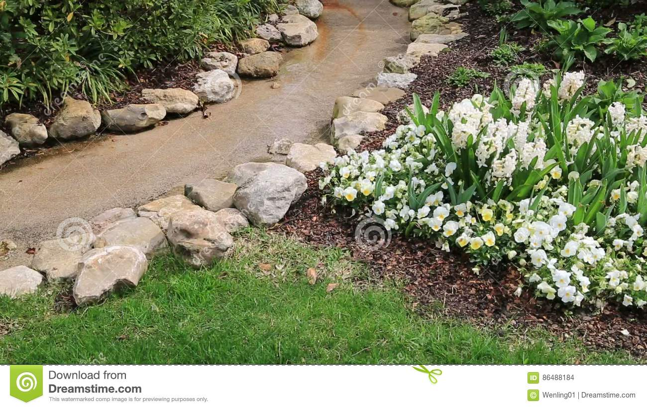 Nice Spring Outdoor Landscapes Stock Footage   Video Of Garden, Bloom:  86488184