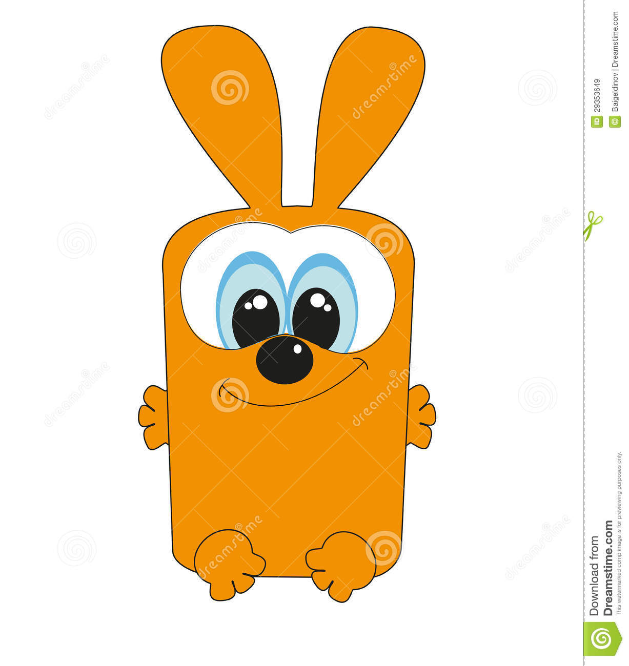 Nice square rabbit royalty free stock images image 29353649