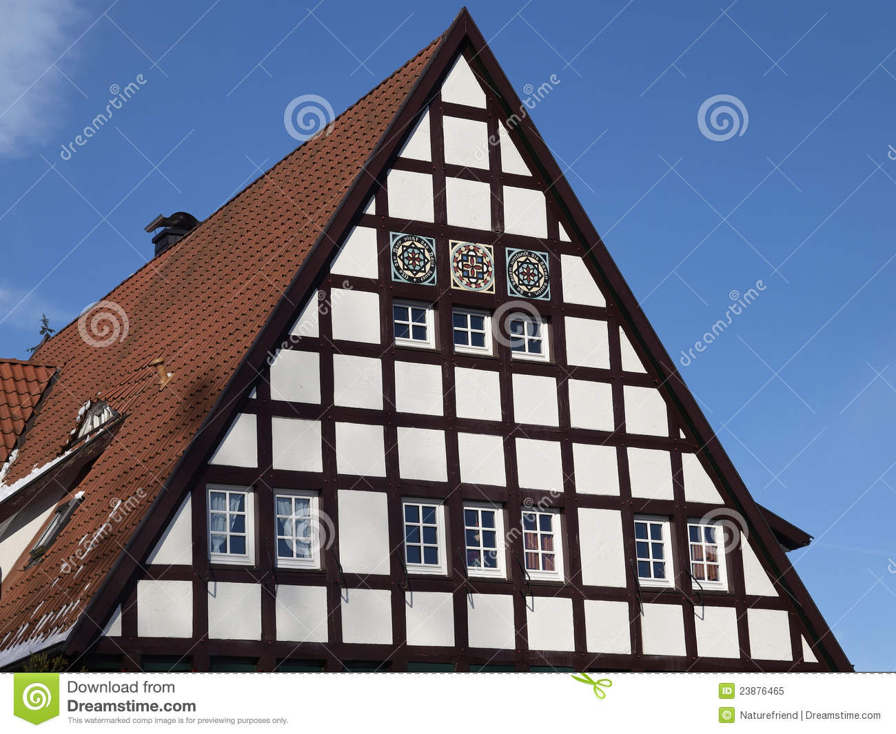 Nice timbered house in Germany