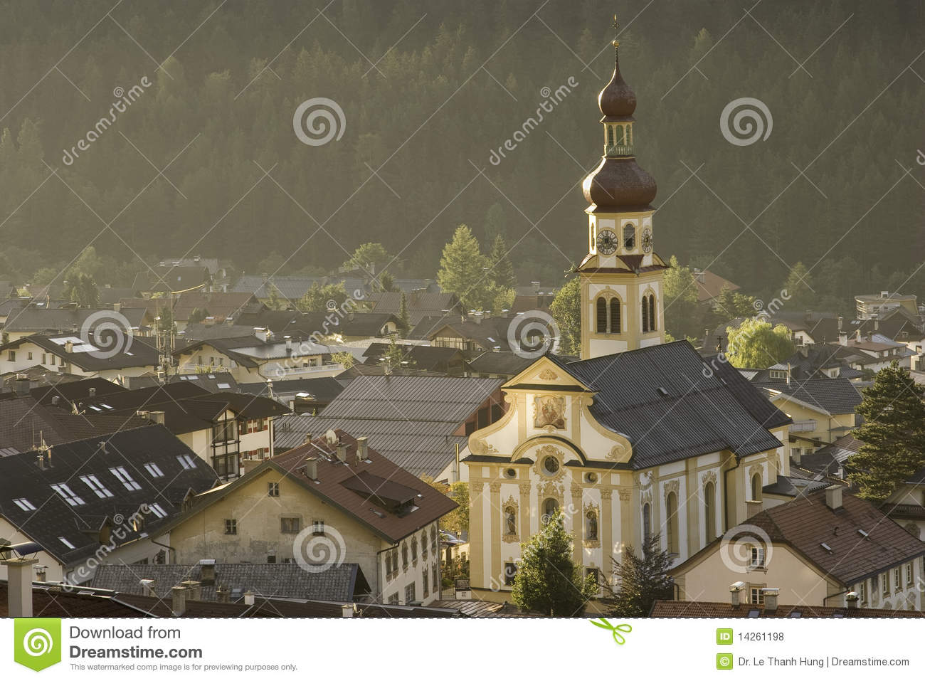 Fulpmes Austria  City pictures : Nice View Of Fulpmes, Austria Royalty Free Stock Photos Image ...