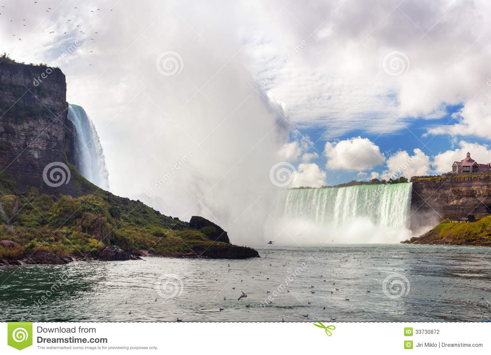 Nice view of Niagara Falls