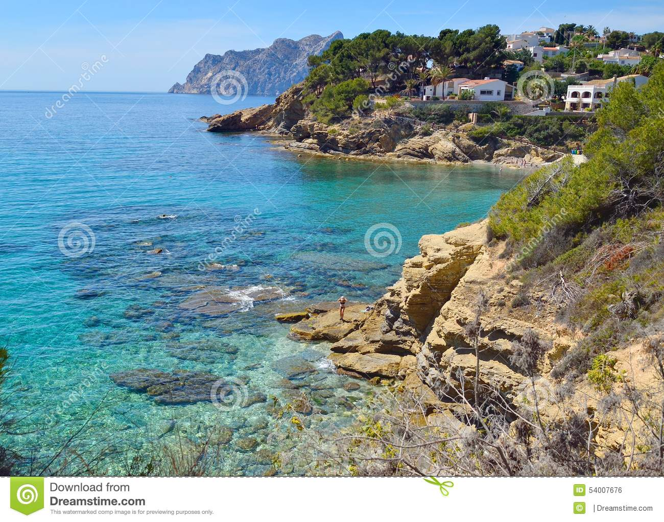 Nice View Of The Sea Stock Photo