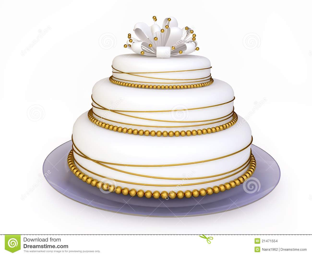 Enchanting 3d Wedding Cake Vignette - The Wedding Ideas ...