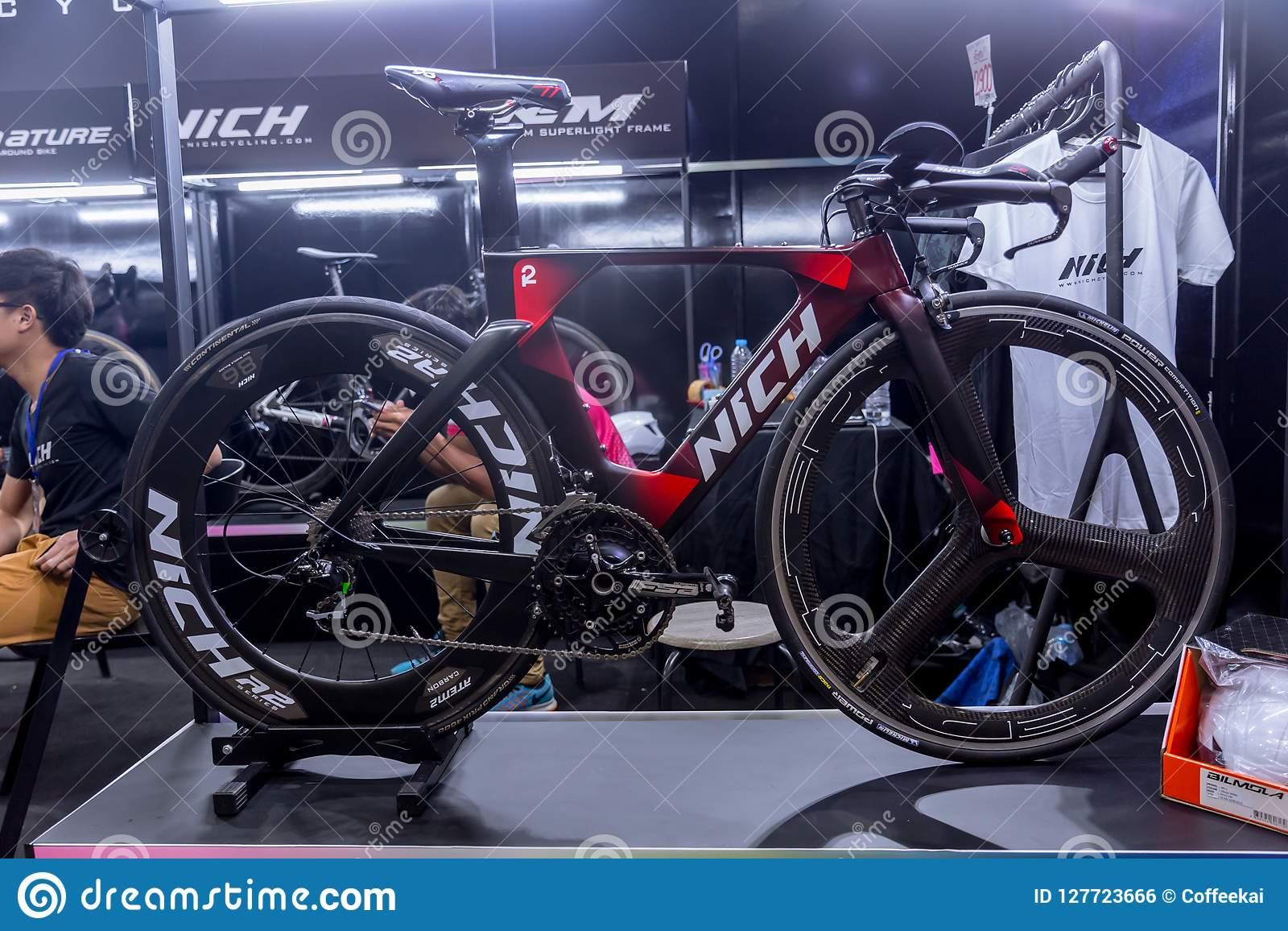 Nich Cycling Thai Local Bike Brand Time Trial Bicycle Sale