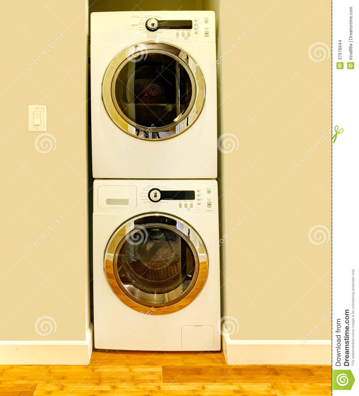 Niche for washer and dryer stock images image 37978944