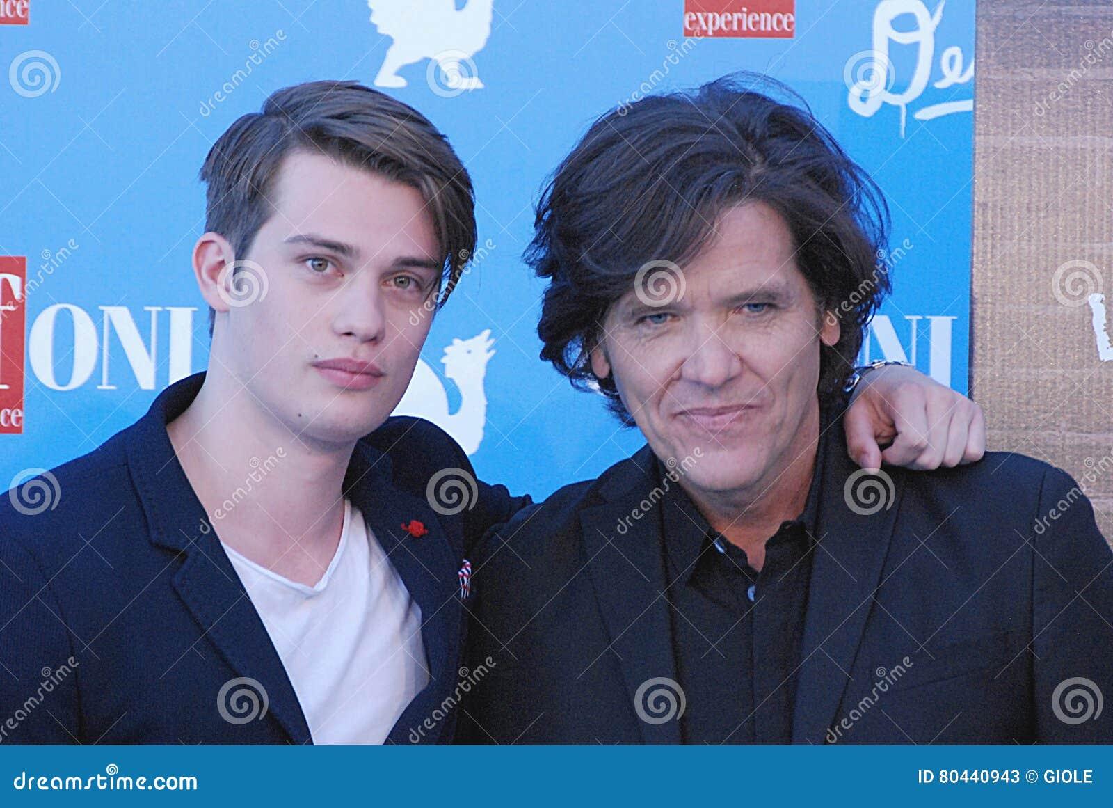 Nicholas Galitzine και Michael Damian στο φεστιβάλ 2016 ταινιών Giffoni