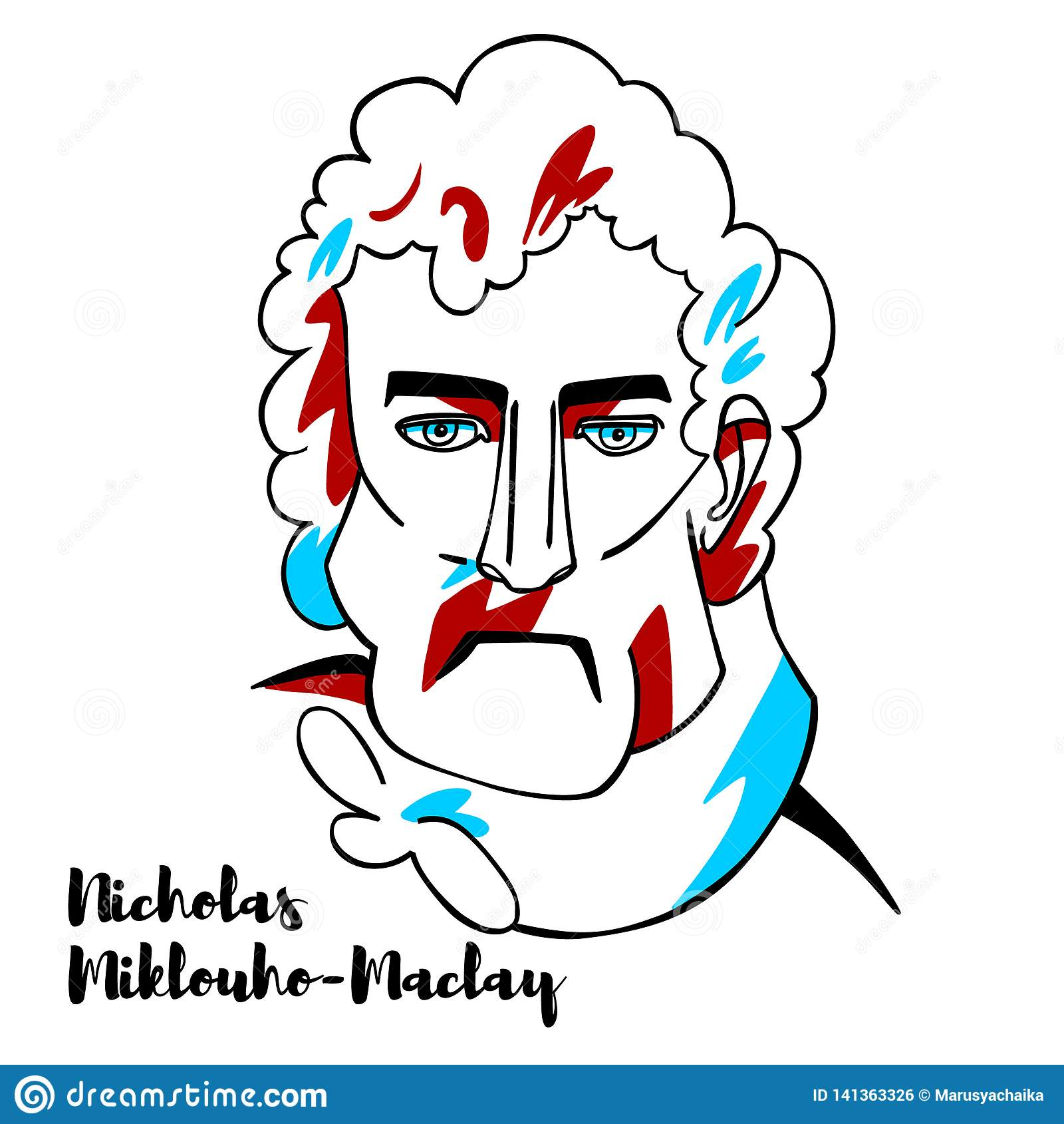 Nicholas Miklouho-Maclay Portrait