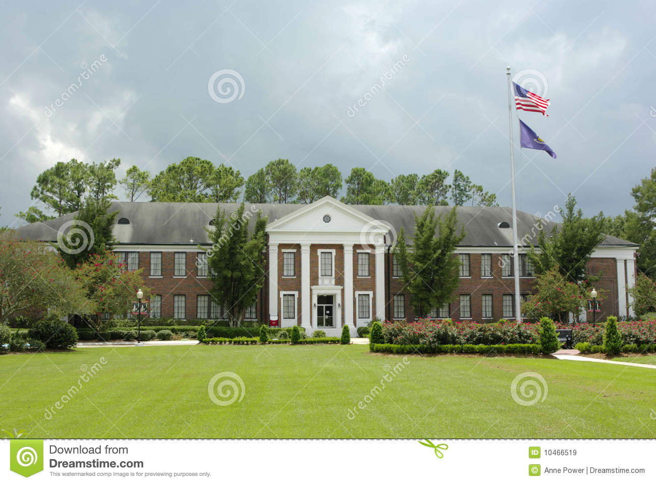 Nicholls State University Royalty Free Stock Images