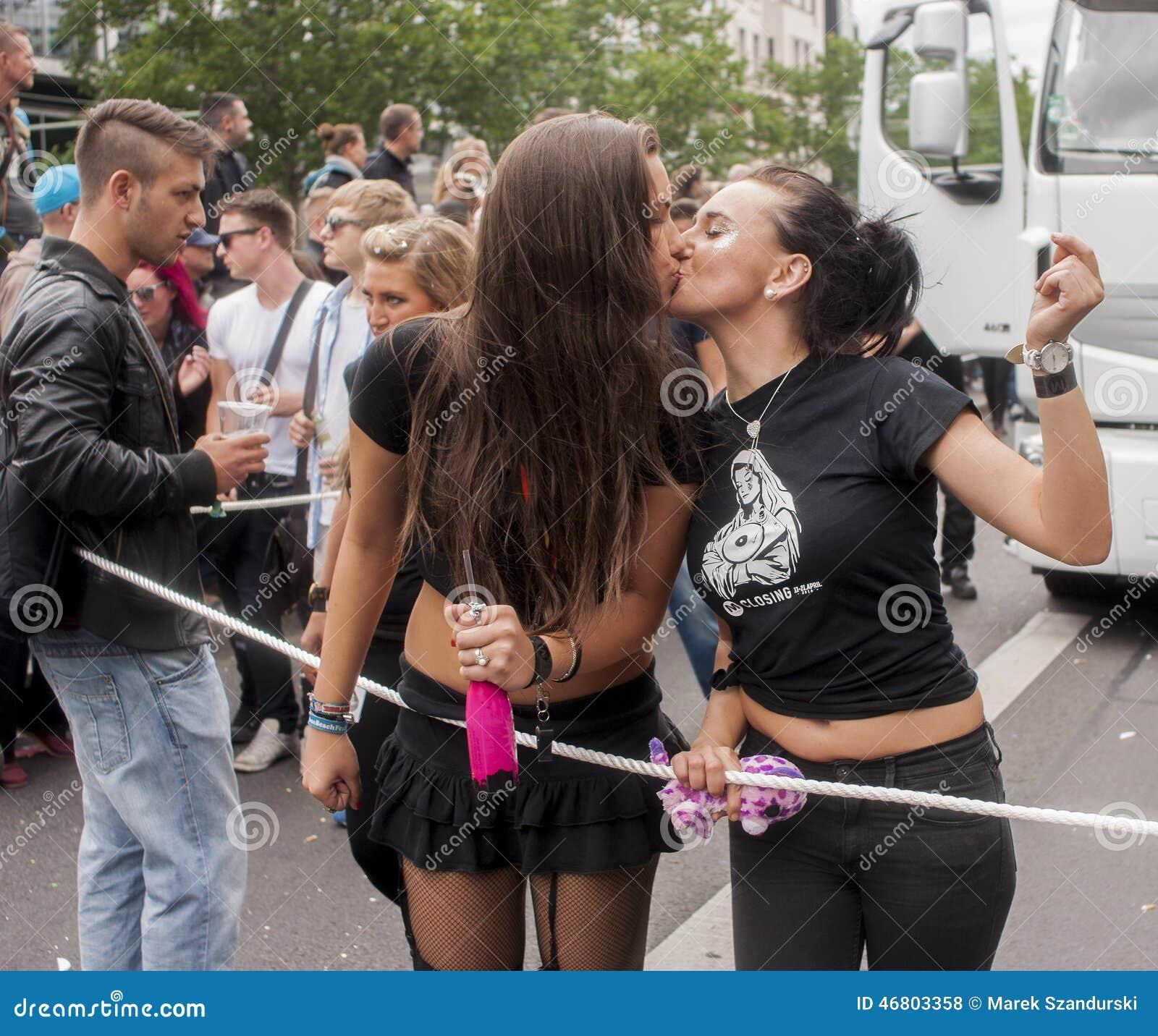 Nicht Identifizierte Lesben, Die Während Des Homosexuellen