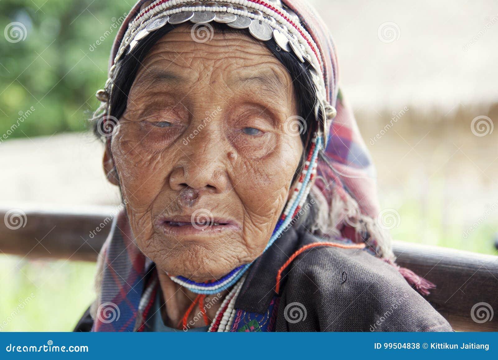 Nicht identifizierter Akha-Stamm