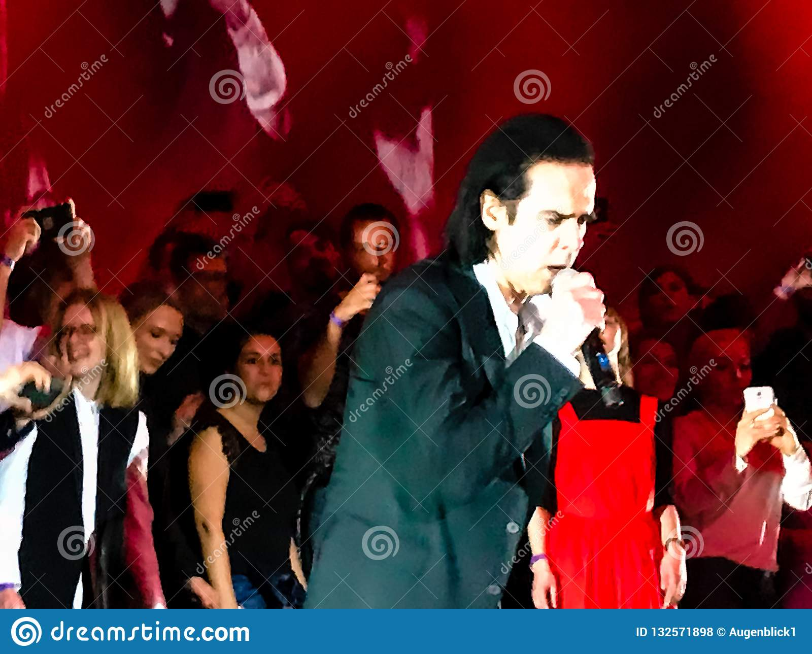 Nick Cave & The Bad Seeds in Concert in Vienna