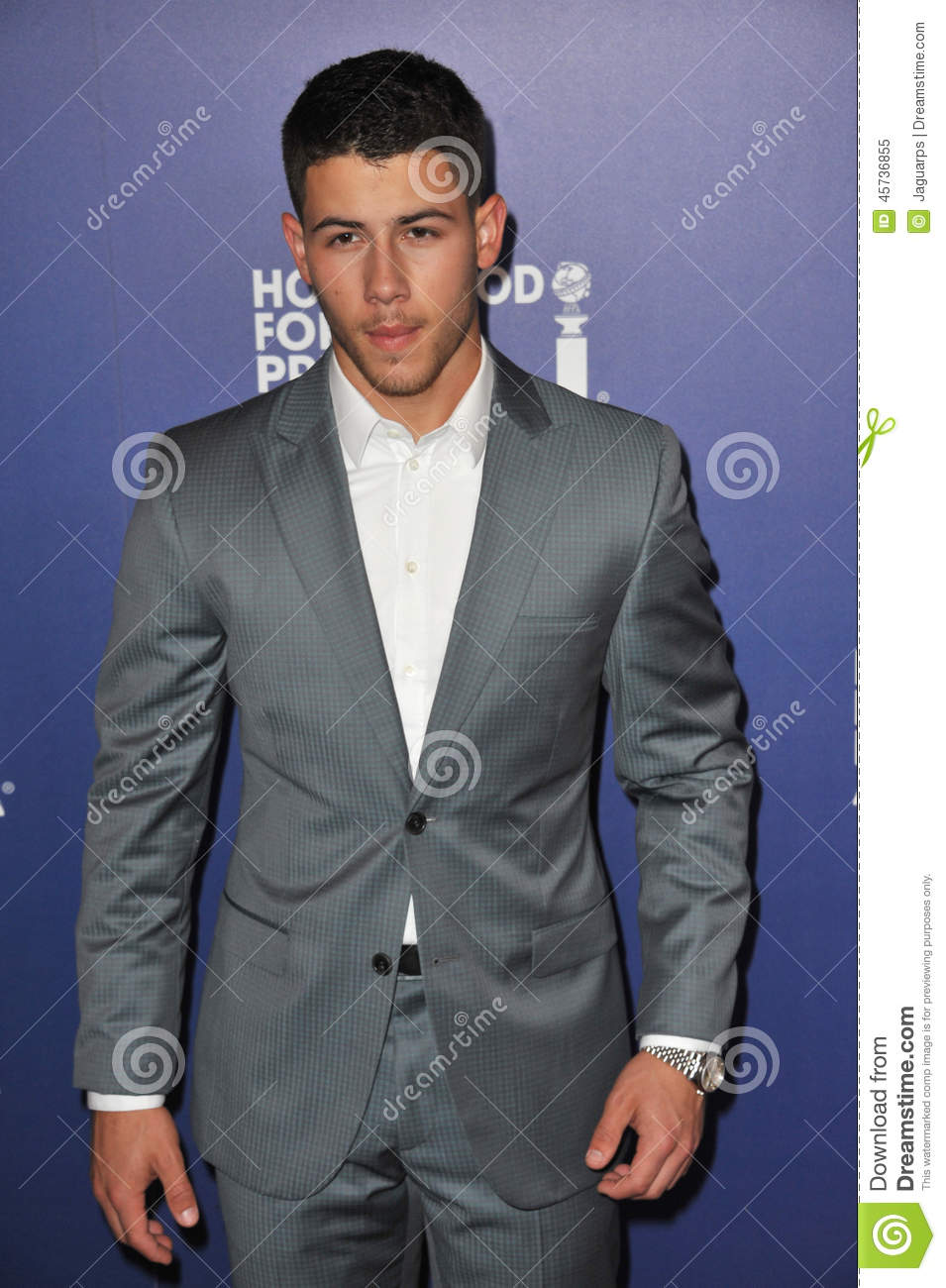 Download Nick Jonas editorial image. Image of length, personality - 45736855