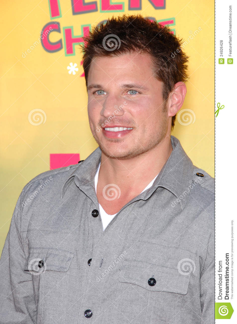 teen picture of nick lachey