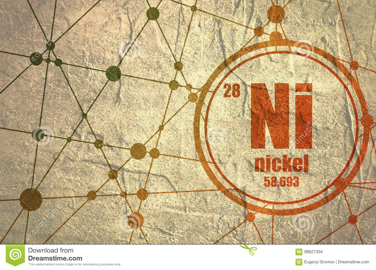 Nickel chemical element stock illustration illustration of name download comp urtaz Image collections