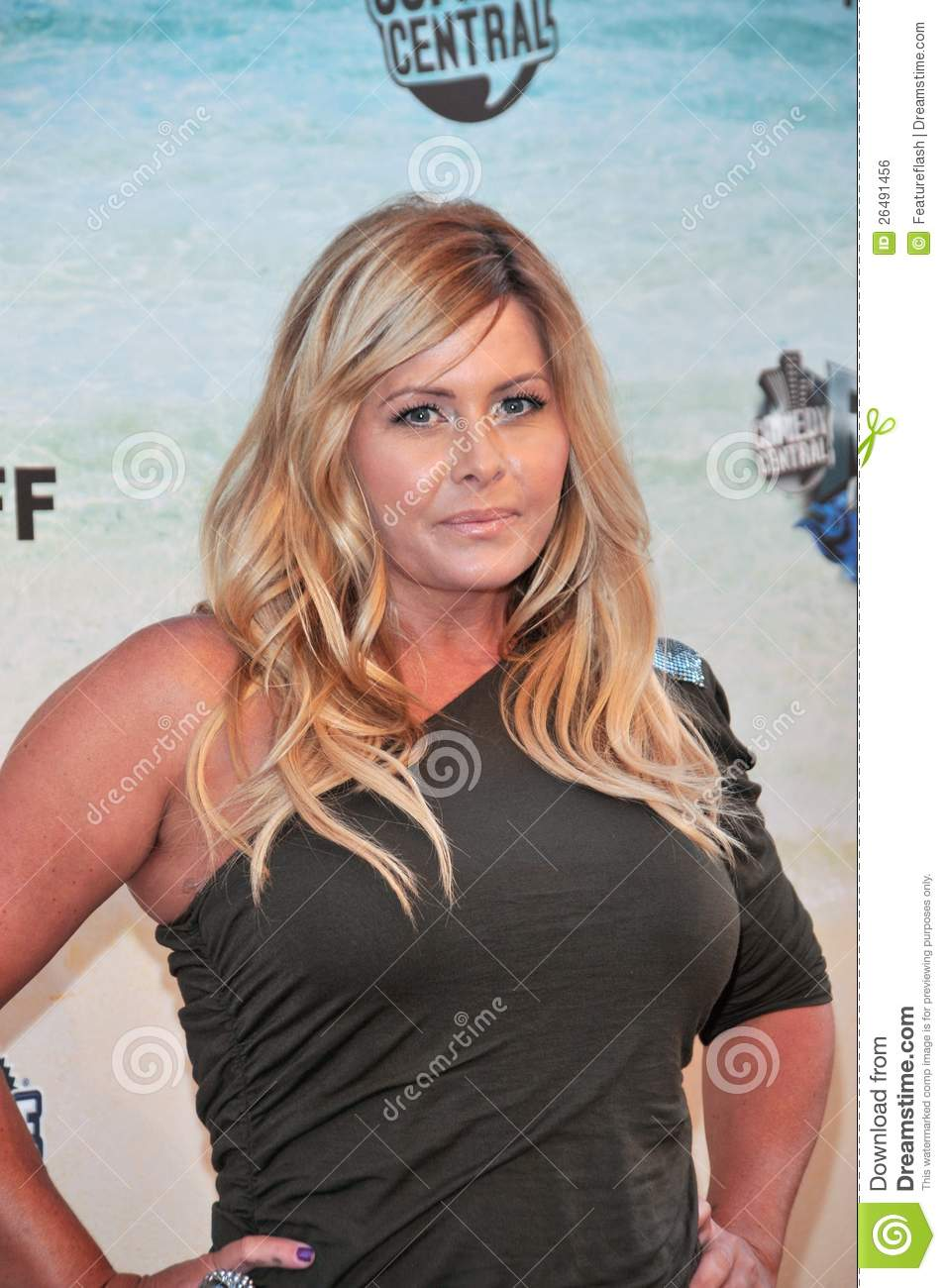Nicole Eggert - at the Comedy Central Roast of Baywatch star David ...