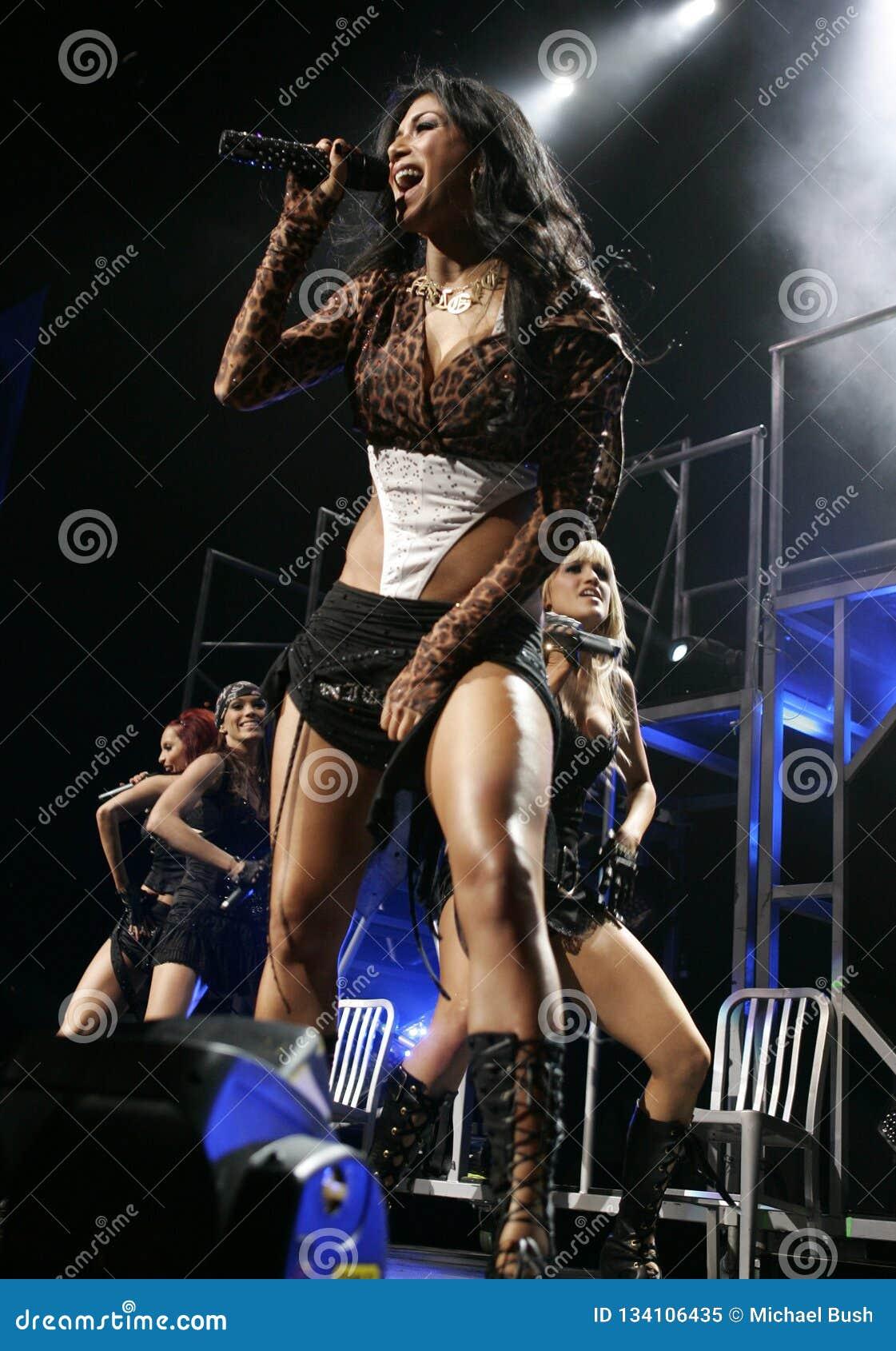Pussycat Dolls Perform in Concert