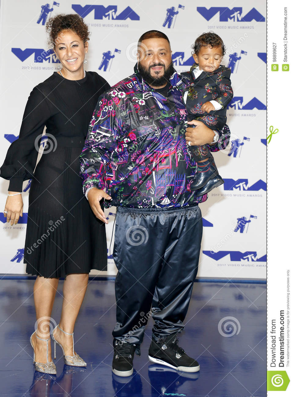 Nicole Tuck, DJ Khaled And Asahd Tuck Khaled Editorial