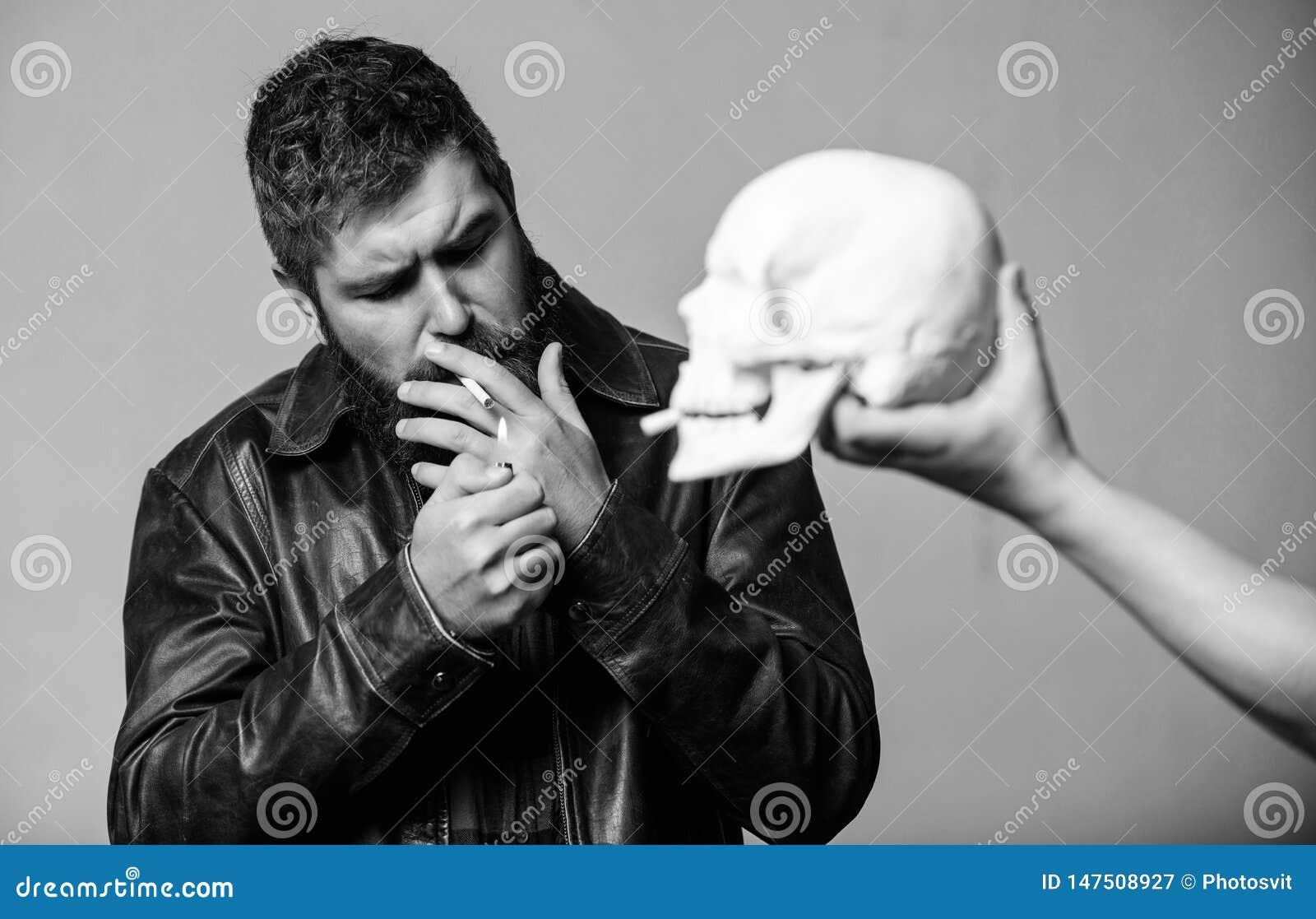 Nicotine destroy health. Harmful habits. Smoking is harmful. Habit to smoke tobacco bring harm to your body. Smoking