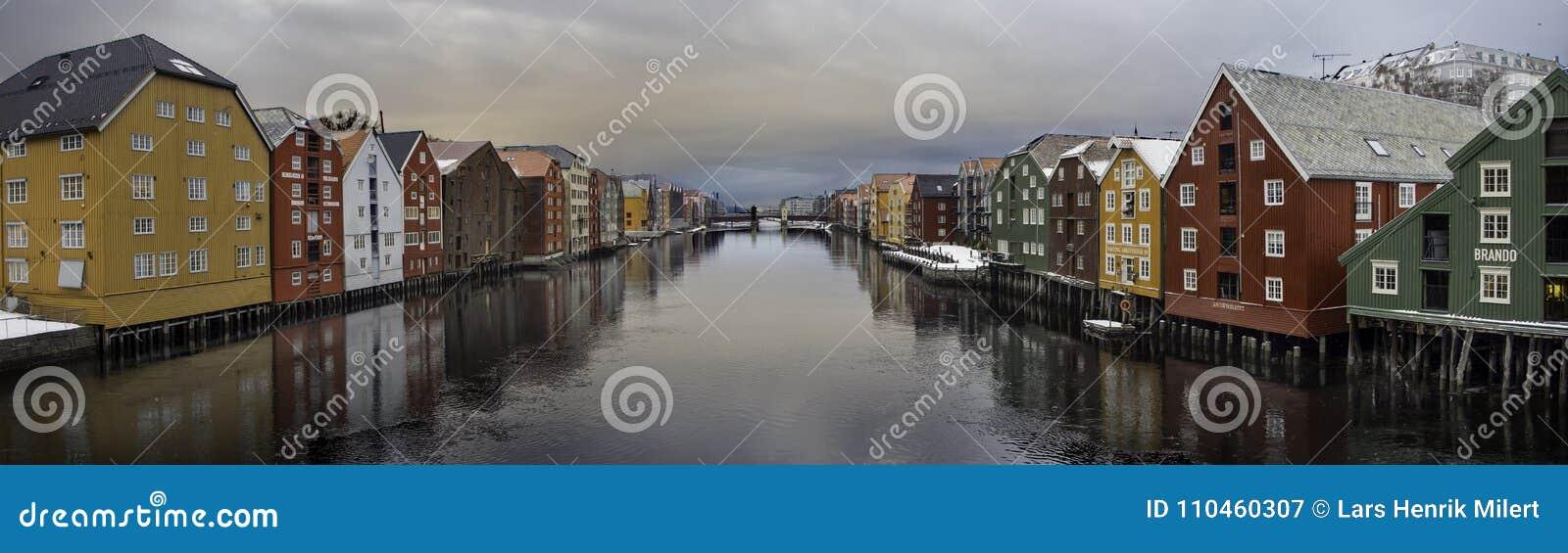 Nidelven Trondheim, Norge