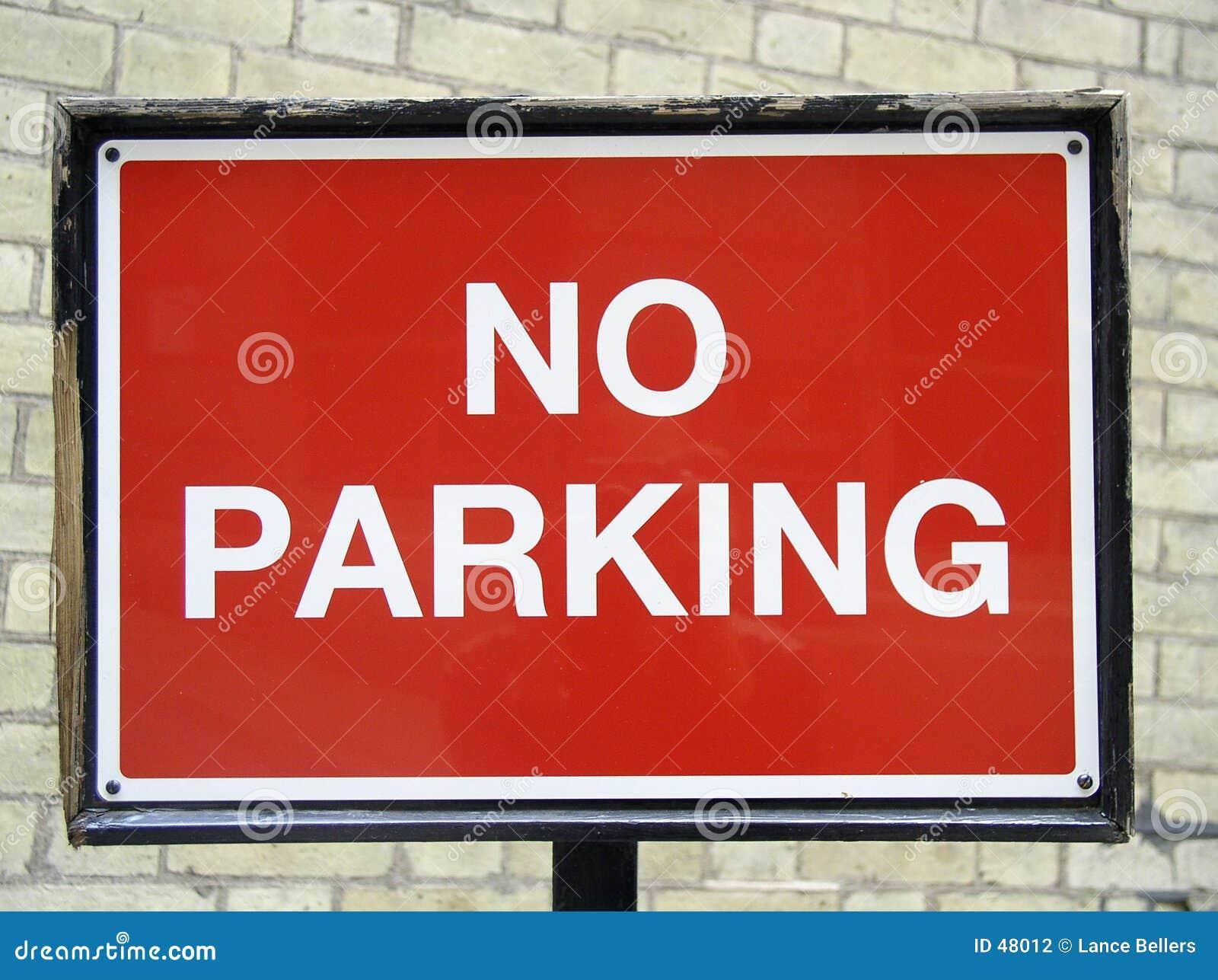 Nie parkować