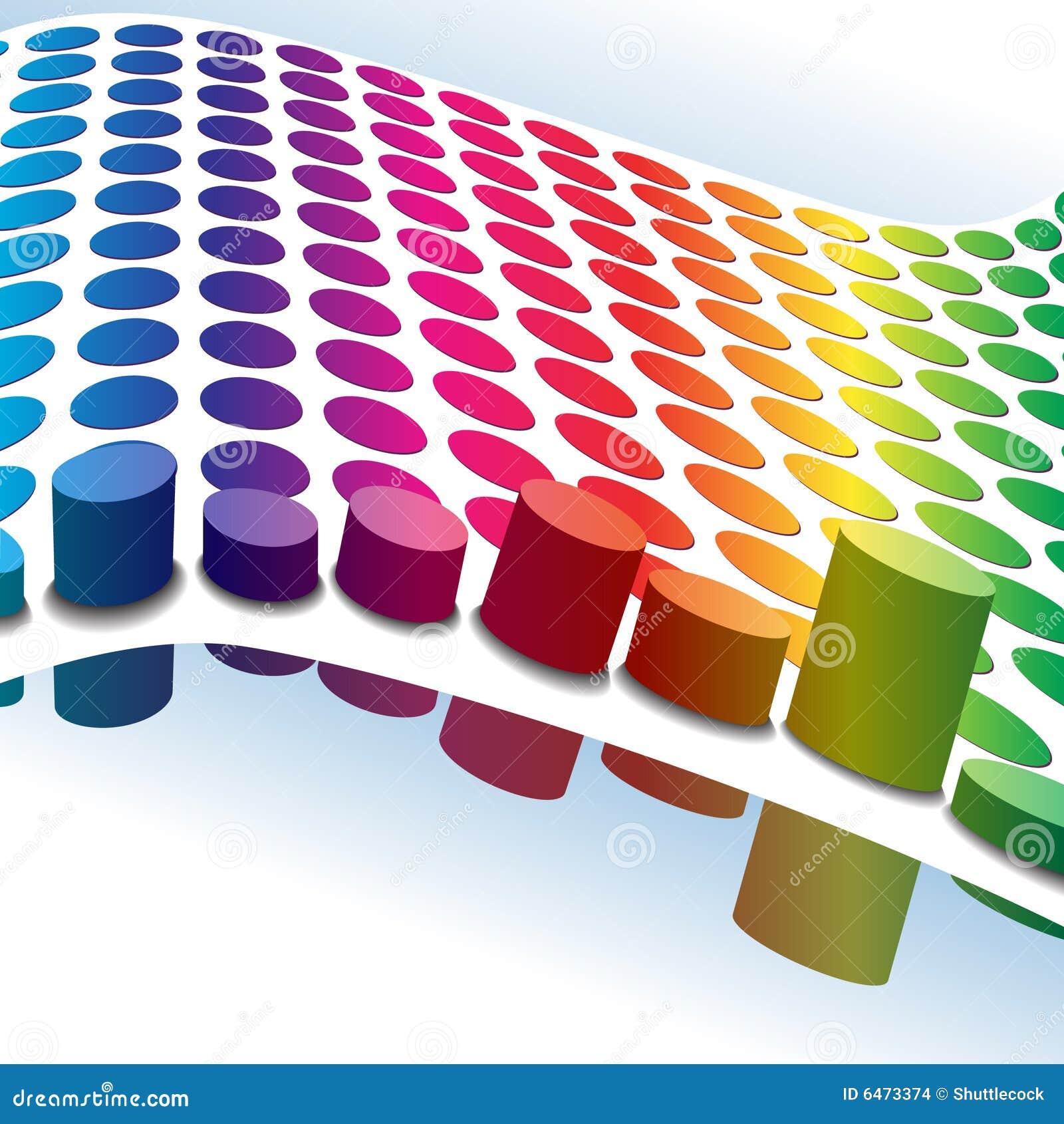 Nie stawiaj kropki nad   retro kolory w półtonach 3 d