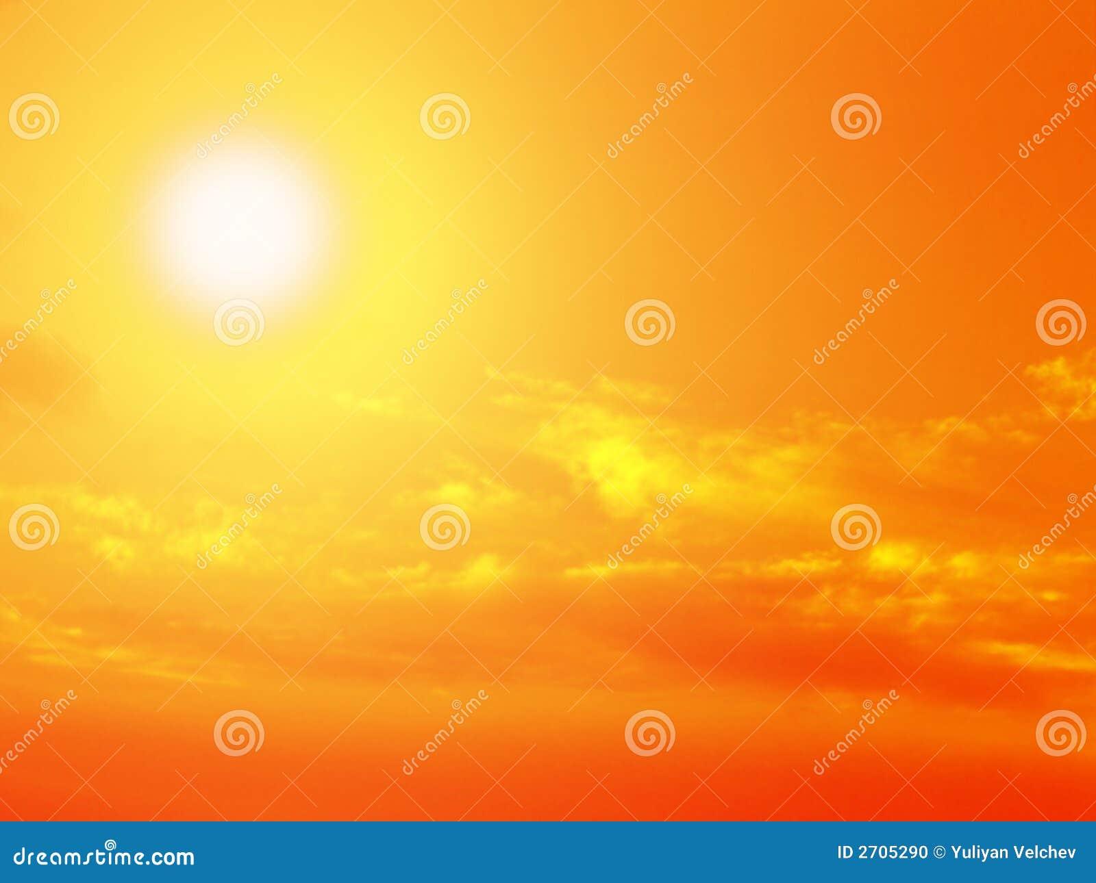 Nieba chmury słońce