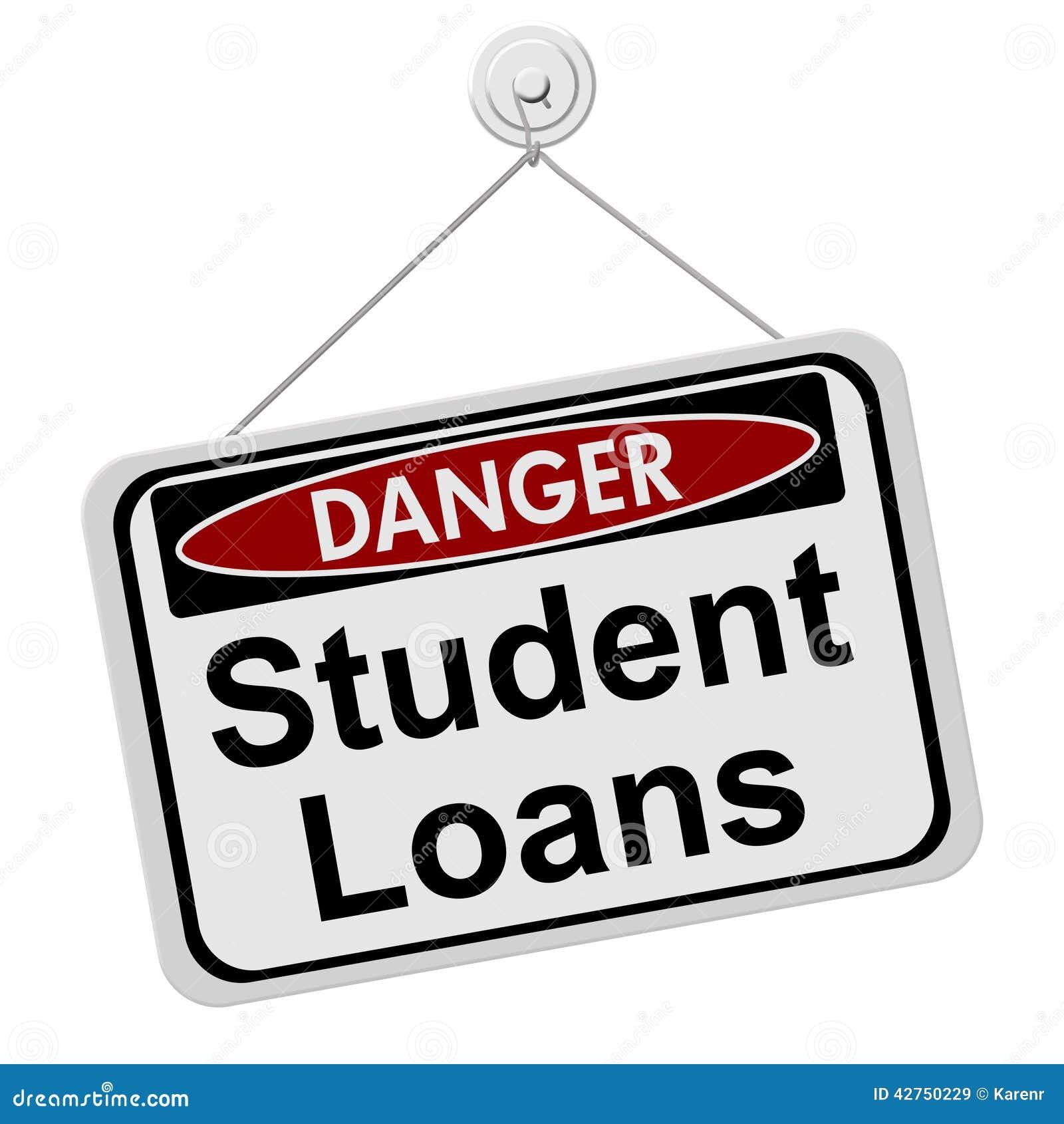 Niebezpieczeństwa mieć Studenckie pożyczki