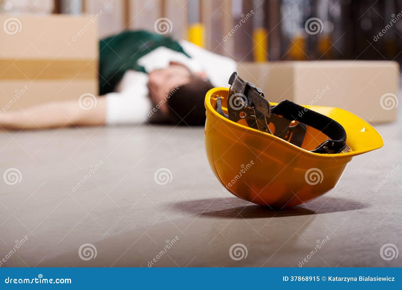 Niebezpieczny wypadek podczas pracy