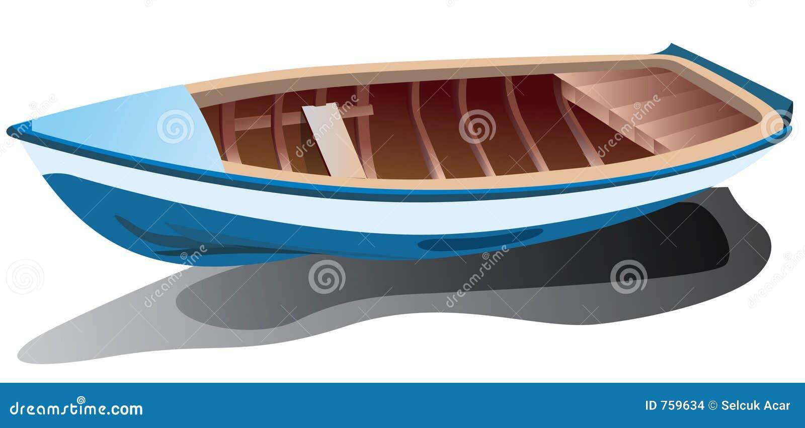 Niebieska łódź