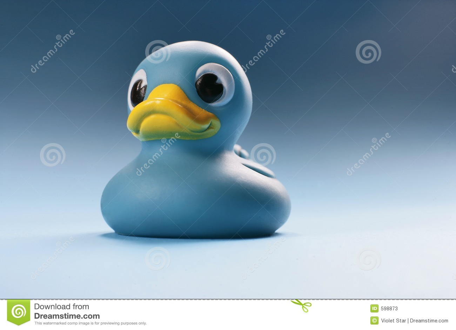 Niebieska kaczka