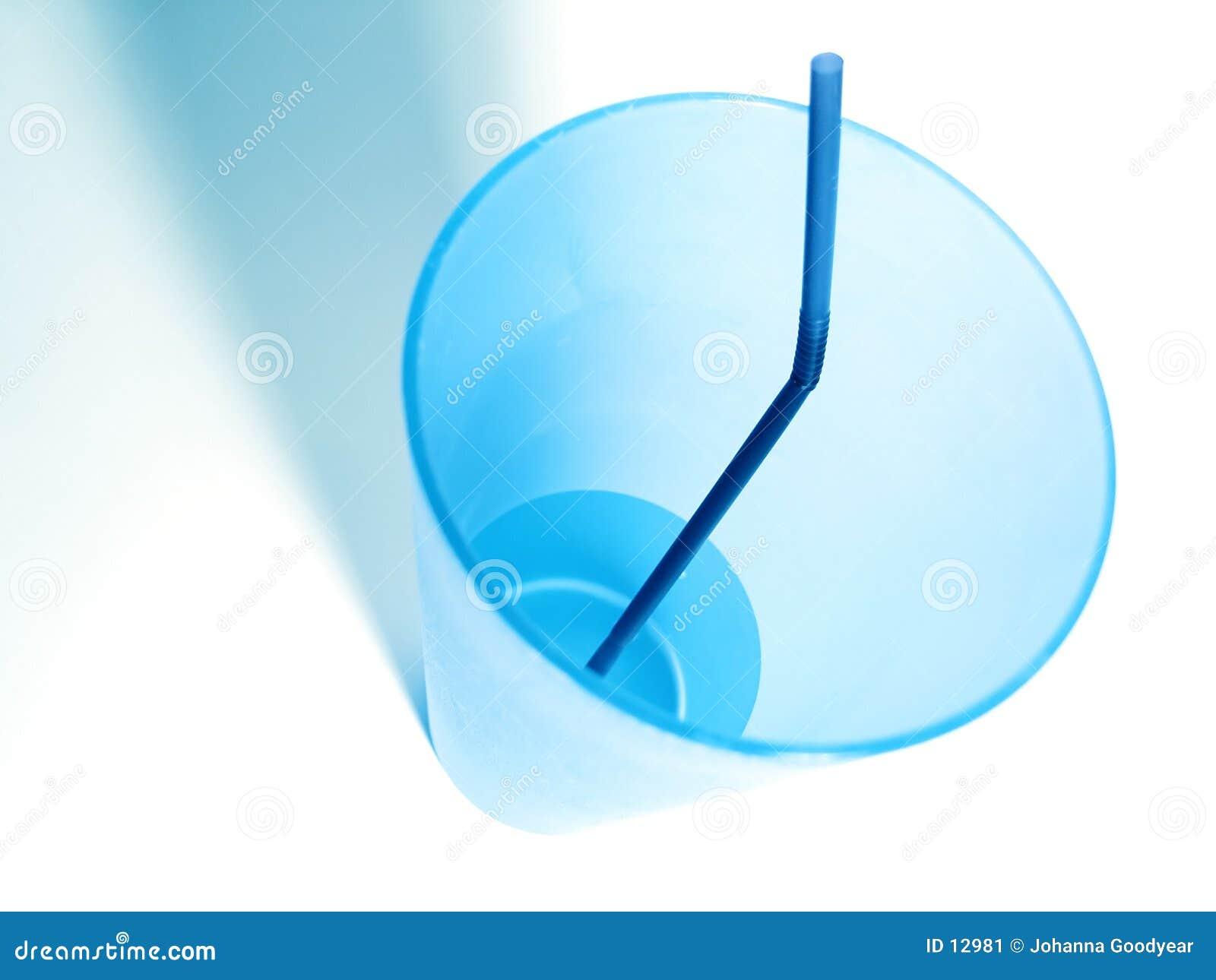 Niebieska kubek