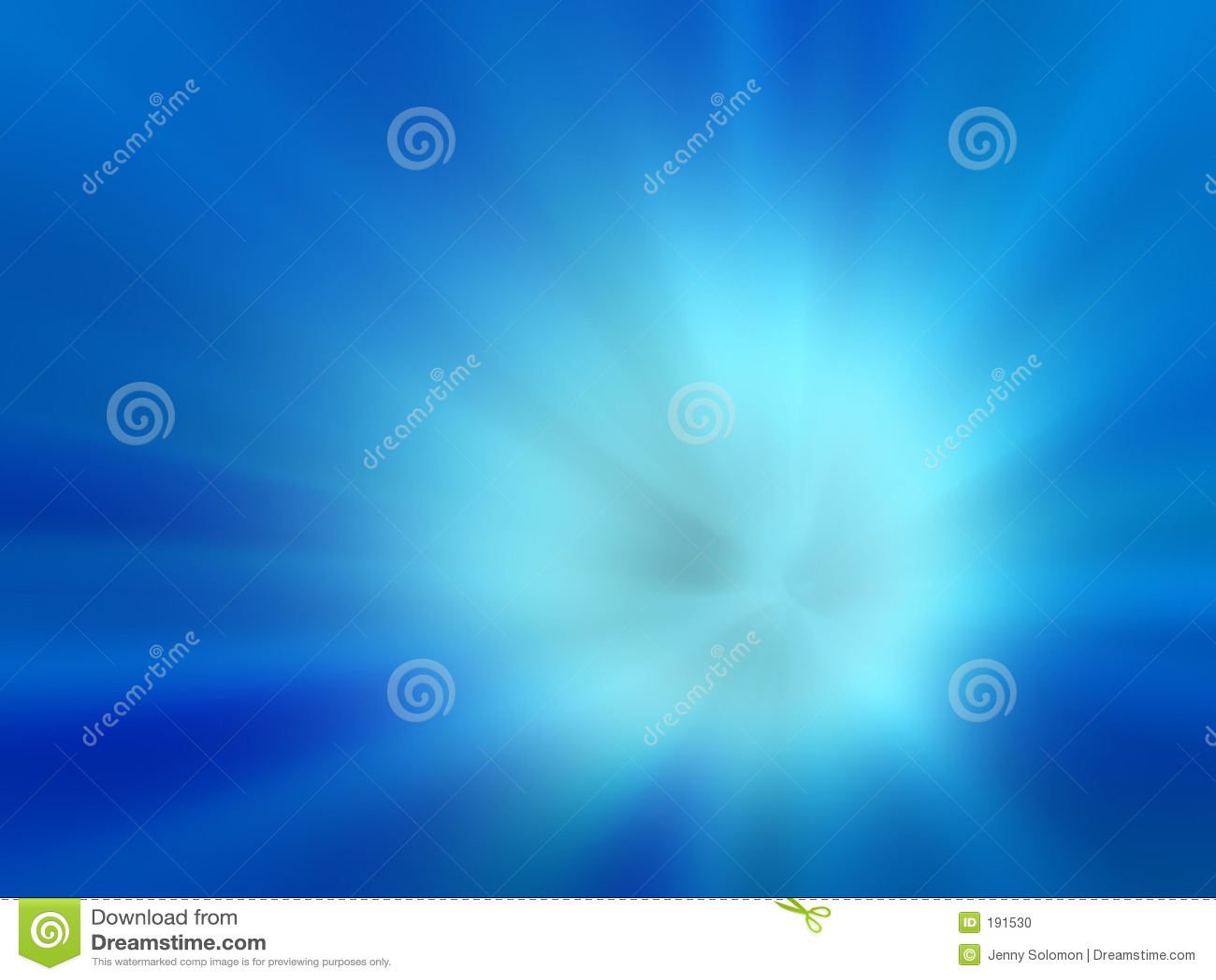 Niebieska tła eksplodował