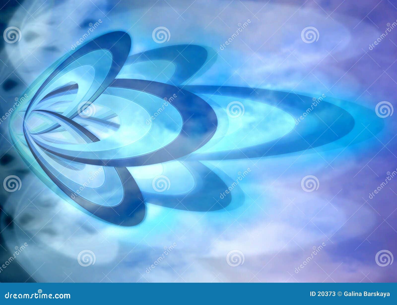 Niebieska tła abstrakcyjne