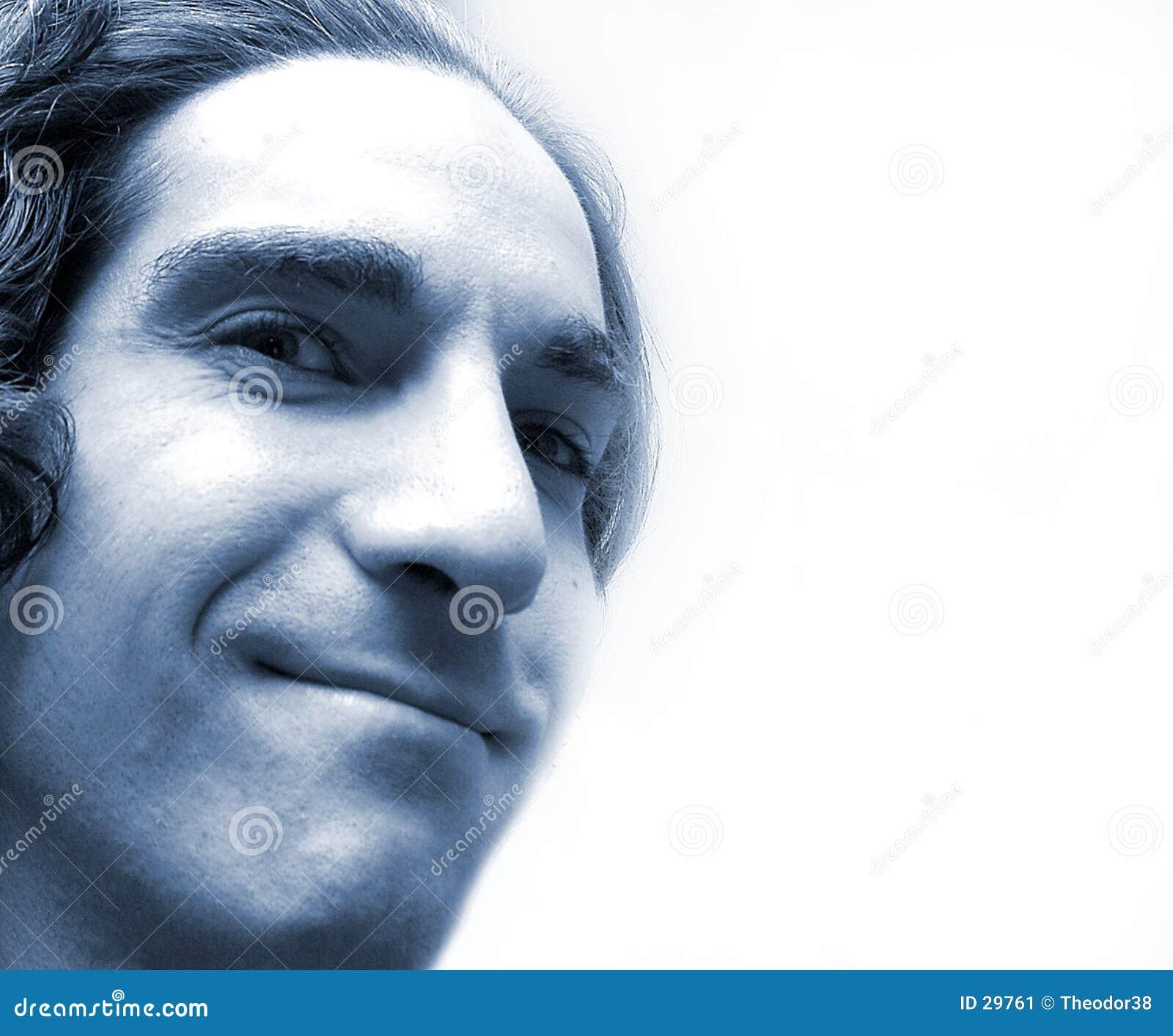 Niebieska twarz